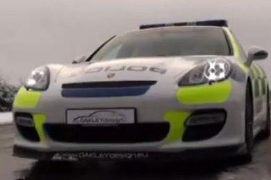 Porsche Panamera politi