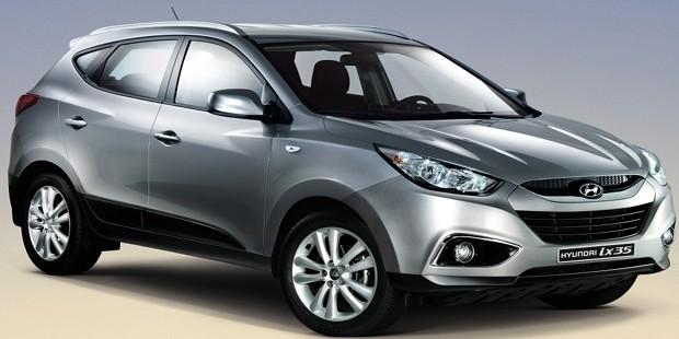 Hyundai IX35 femstjernet topsikkerhed!