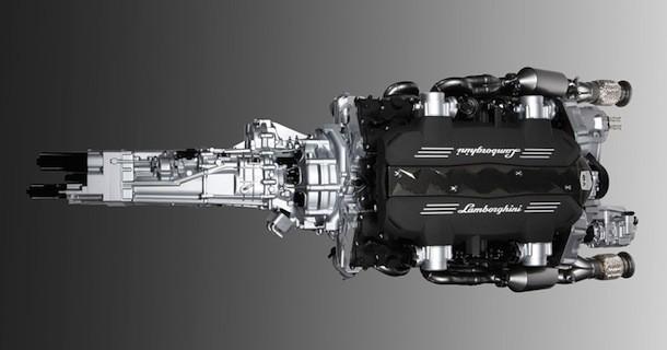 Lamborghini dropper manuelt gear