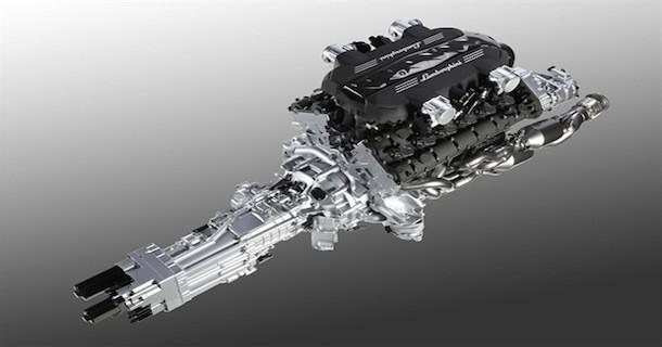 Ny Lamborghini V12 motor med 691 hestekræfter!