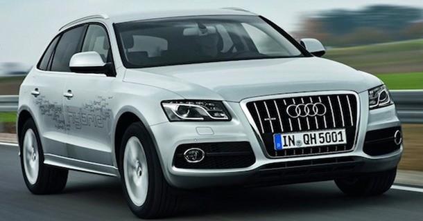 Audi Q5 hybrid quattro præsenteres i Los Angeles