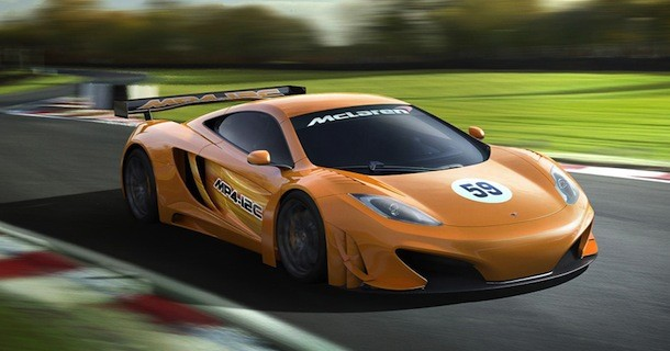 McLaren MP4-12C GT3 racer