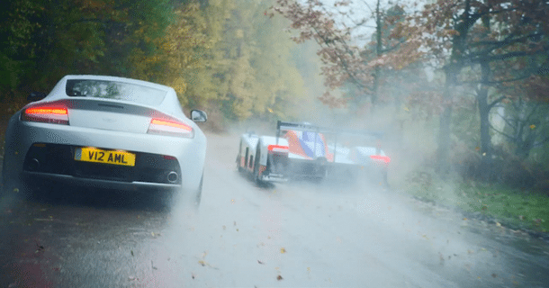 Aston Martin V12 Vantage vs. DBR 1-2