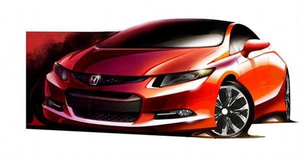 Ny & mere sporty Honda Civic – Klar til Detroit Motorshow
