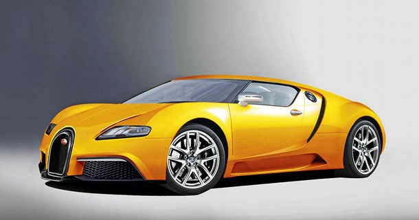 Hurtigere og lettere Bugatti Veyron i 2013!