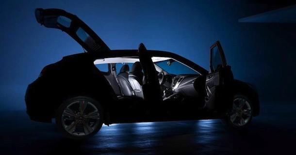 Hyundai Veloster præsenteres d.10 januar – Video