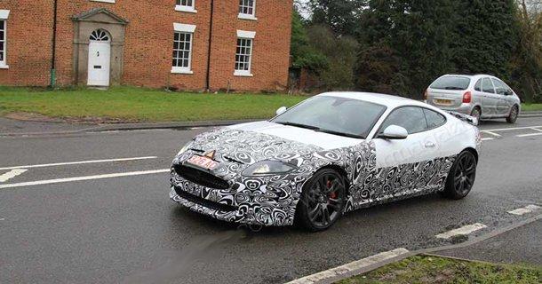 Spionbilleder af Jaguar XK facelift (2012)
