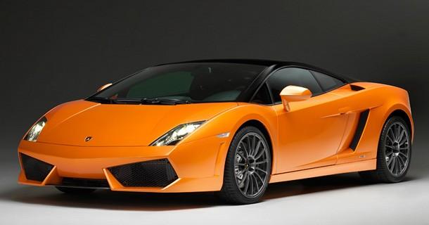 Sig goddag til Lamborghini Gallardo Bicolore