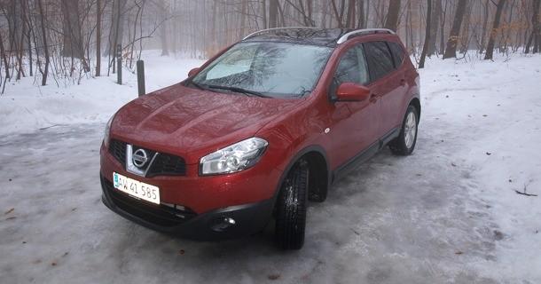 Test: Nissan Qashqai +2 2.0 dCi DPF 4WD aut. Tekna