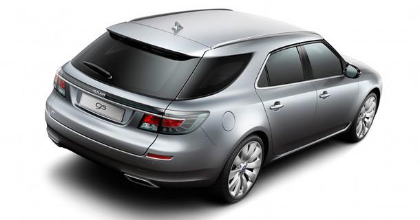 Saab 9-5 SportCombi får debut ved Geneve motor show