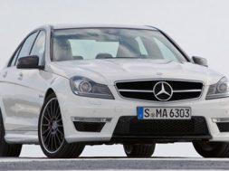 Mercedes C63 AMG 2012