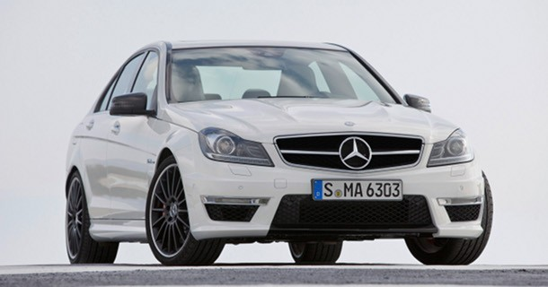 Mercedes-Benz C63 AMG 2012 specifikationer afsløret