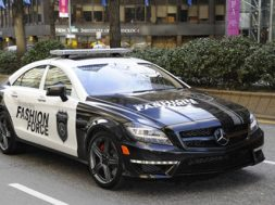 Mercedes-Benz Fashion Force Goes On Patrol.