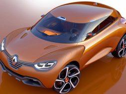 Renault Captur koncept til geneve motor show 2011