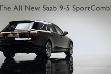 Saab 9-5 sportcombi video i 20111 foer geneve