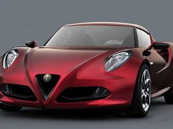 Alfa Romeo 4C med 1.8 liters motor