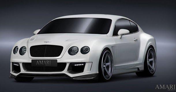 Amari præsenterer Bentley Continental GT med 750 hk