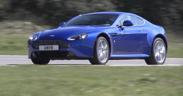 Aston Martin Vantage S – Video