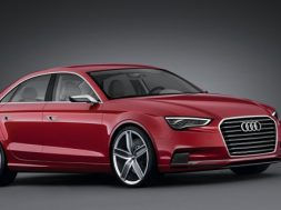 Audi A3 sedan koncept geneve 2011