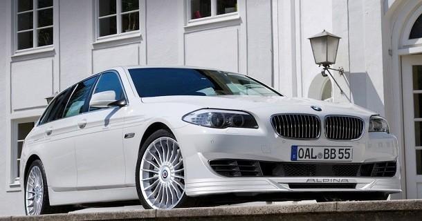 BMW alpina b5 biturbo touring 2011