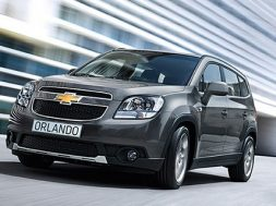 Chevrolet Orlando introduceres 2011