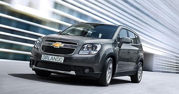 Chevrolet Orlando introduceres i Danmark