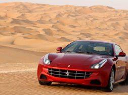 Ferrari ff i oerkenen 2011 billeder