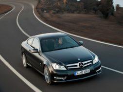 Mercedes c-klasse coupe geneve 2011