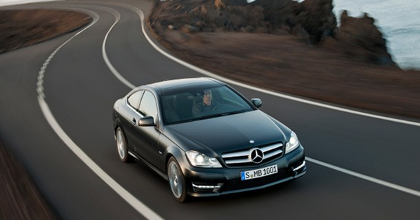 Mercedes-Benz C-klasse Coupé offentliggjort