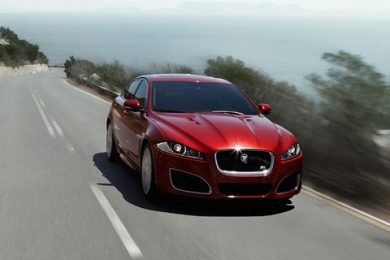 Jaguar XFR facelift