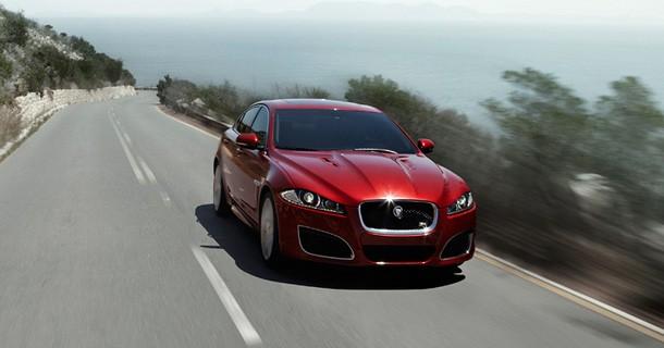 278 km/t i Jaguar XFR