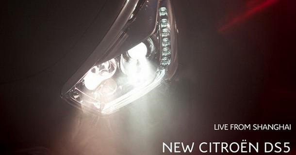 Citroën DS5 afsløret på Facebook før debut ved Shanghai Motor Show