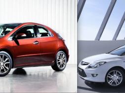 Honda civic gt og hyundai i30 eco