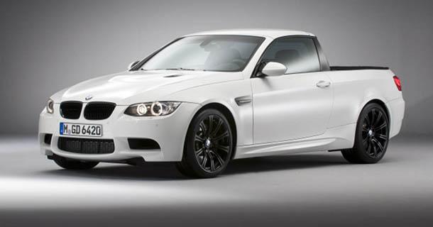 BMW præsenterer M3 Pickup med 420 hk!