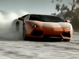 lamborghini aventador officiel reklamefilm 2011