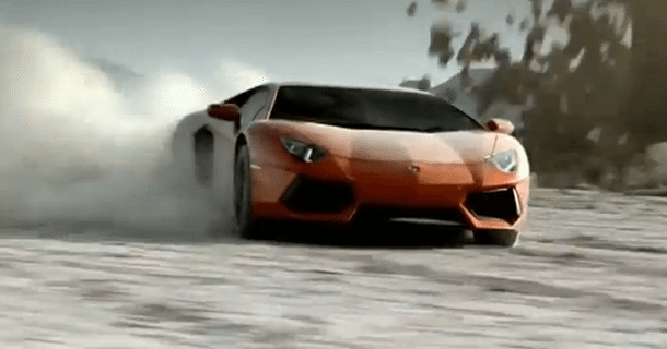 Nye Lamborghini Aventador LP700-4 reklamer – Video