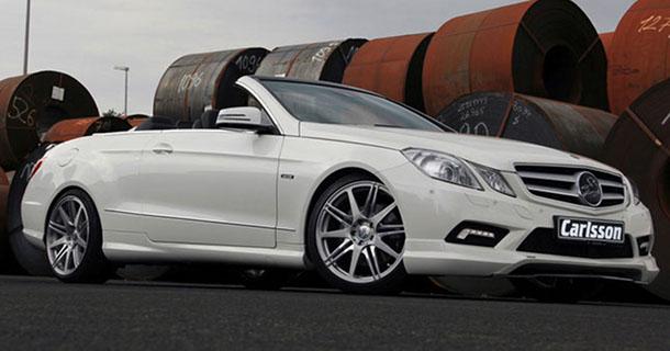 Carlsson giver Mercedes E-klasse Cabriolet mere power