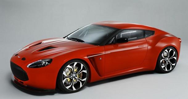 Aston Martin V12 Zagato med Italiensk elegance