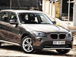 BMW X1 sDrive 20d test bilsektionen 2011