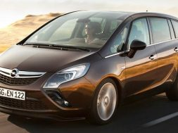 Opel Zafira 2012 i Danmark