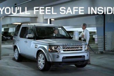 land rover you feel safe kampagne