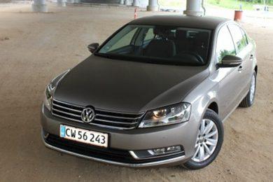 Volkswagen Passat er den bedst sælgende i november 2011
