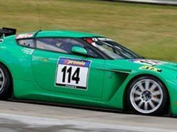 Aston Martin V12 Zagato på Nürburgring