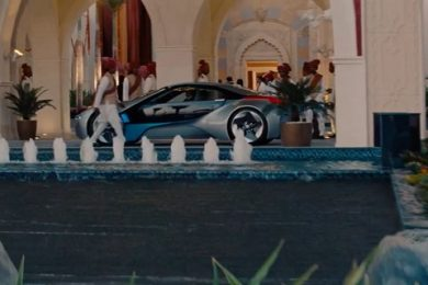 bmw i8 i mission impossible trailer