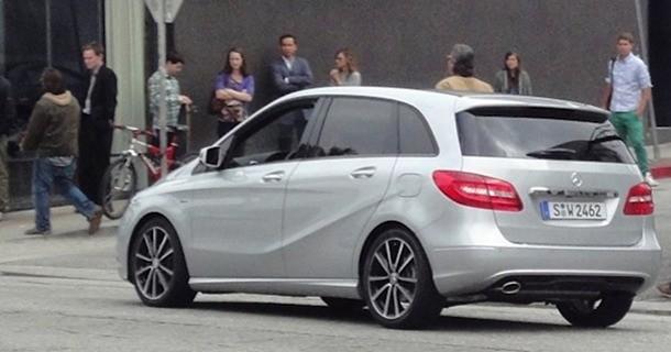 Den næste Mercedes B-klasse billede