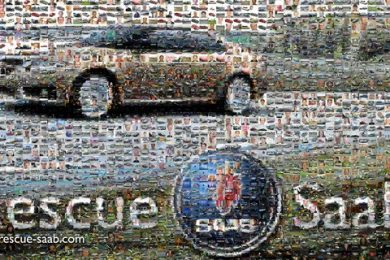 Saab erklærer sig selv konkurs