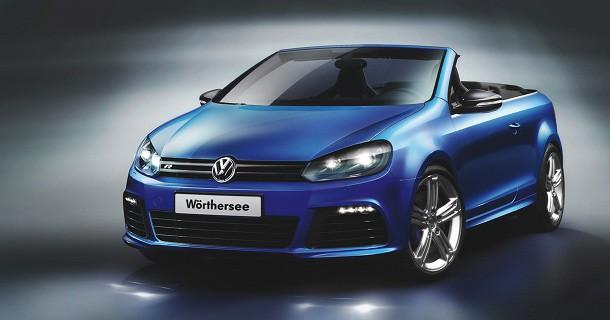 Volkswagen Golf GTI og R cabriolet koncept