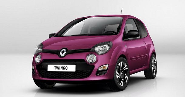 Renault Twingo 2012 facelift