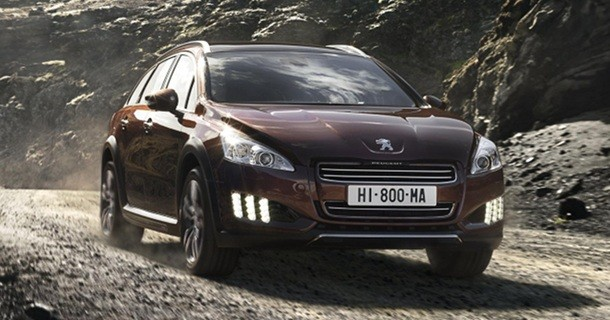 Officielt: Peugeot 508 RXH billeder og information