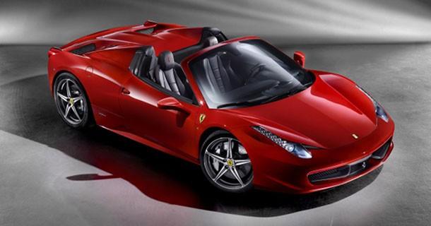 De første officielle billeder af Ferrari 458 Italia Spider – Video